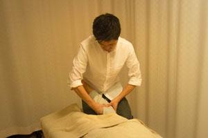 「ふくらはぎ」 ふくらはぎの筋肉と骨をばらしひざ下の安定性を回復