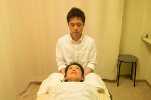 「頭部」 頭部の循環や骨の状態を整えていきます