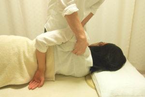 あち整体の肩甲骨の施術